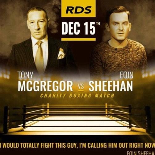 McGregor si nasadí rukavice a zamíří do ringu