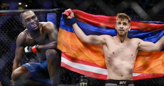 Brunson Derek vs. Shahbazyan Edmen na galavečeru UFC