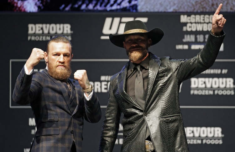 Donald Cerrone vs. Conor McGregor