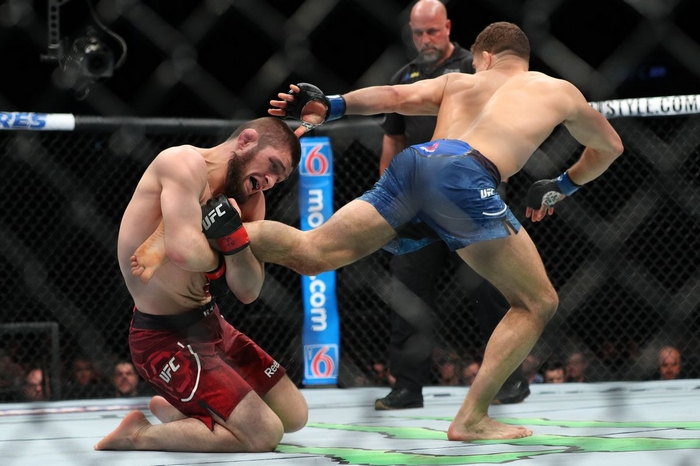 Khabib Nurmagomedov v oktagonu UFC