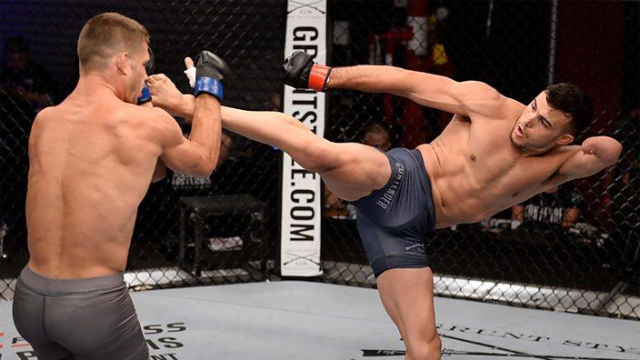 Nick Newell nebyl přijat do UFC