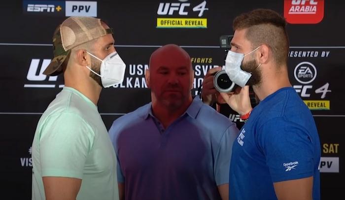 Oezdemir Volkan vs. Procházka Jiří na UFC 251