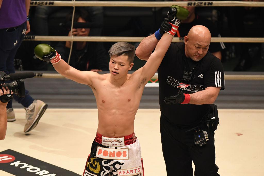Tenshin Nasukawa si věří