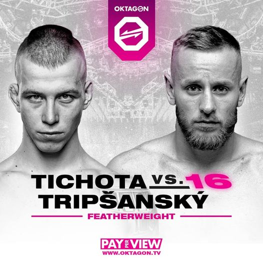 Tichota Jakub vs. Tripšanský Denis na Oktagon MMA