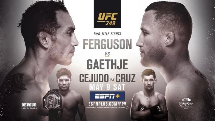Tony Ferguson vs. Justin Gaethje