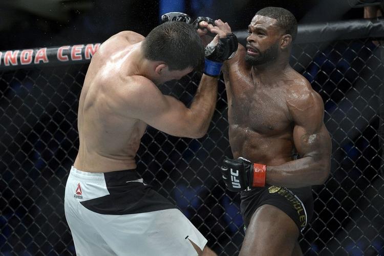 Tyron Woodley nabízí zápas v UFC, soupeř ale odmítl