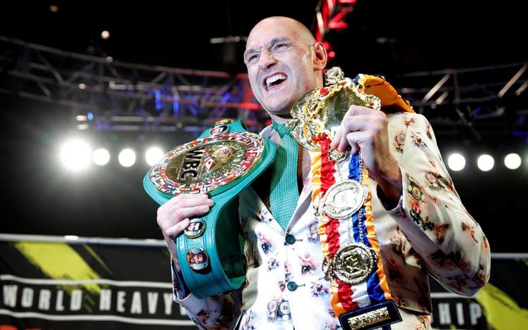 Tyson Fury je opravdovou legendou v boxu