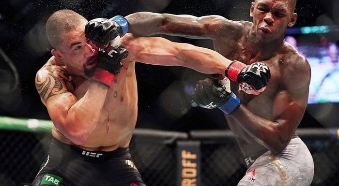 Whittaker Robert vs. Till Darren na UFC