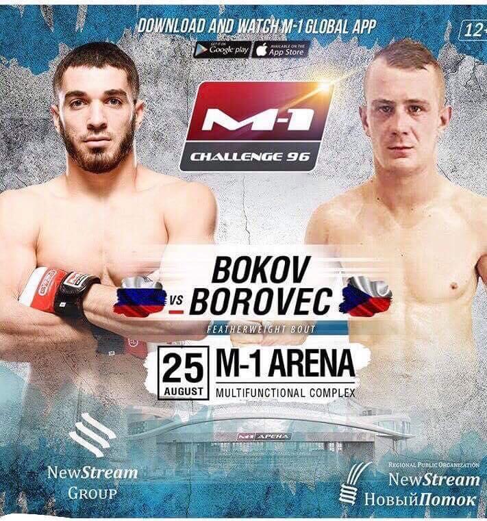 Adam Borovec bojuje v Rusku