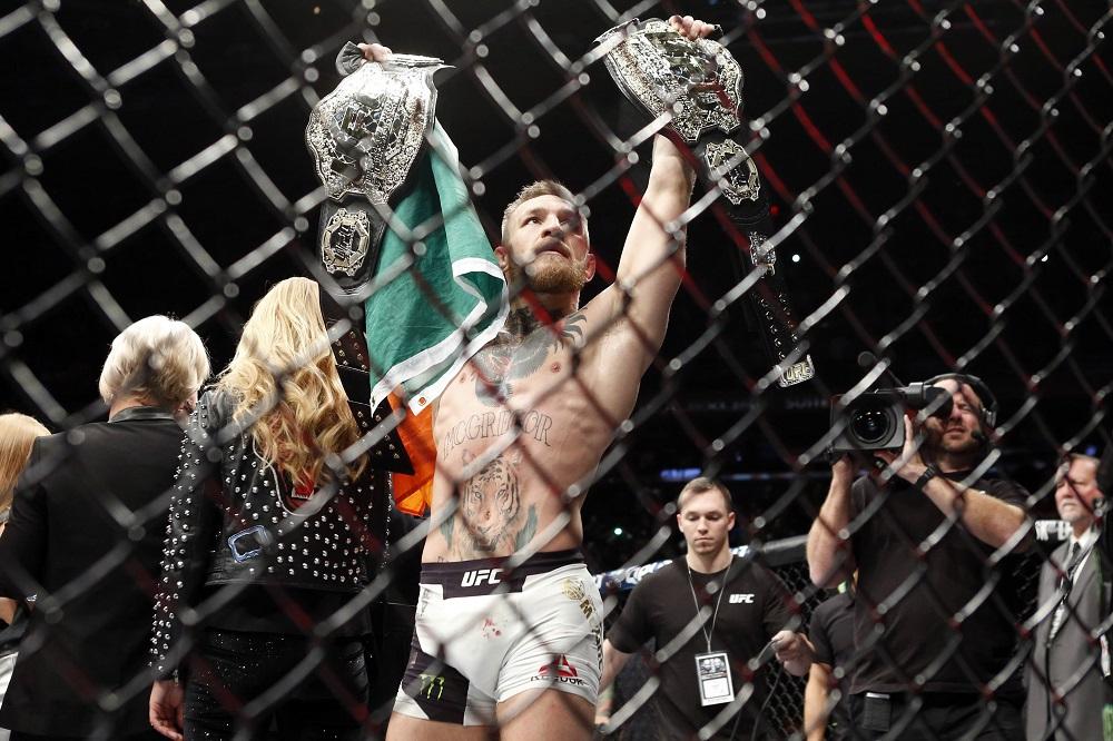 McGregor je v současném bojovém světě významnou osobností