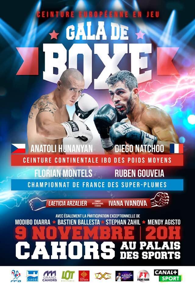 Profesionální boxer Anatoli Hunanyan - Tolja oznámil další zápas.