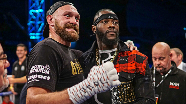 Obhájce titulu Deontaye Wildera vyzve Brit Tyson Fury