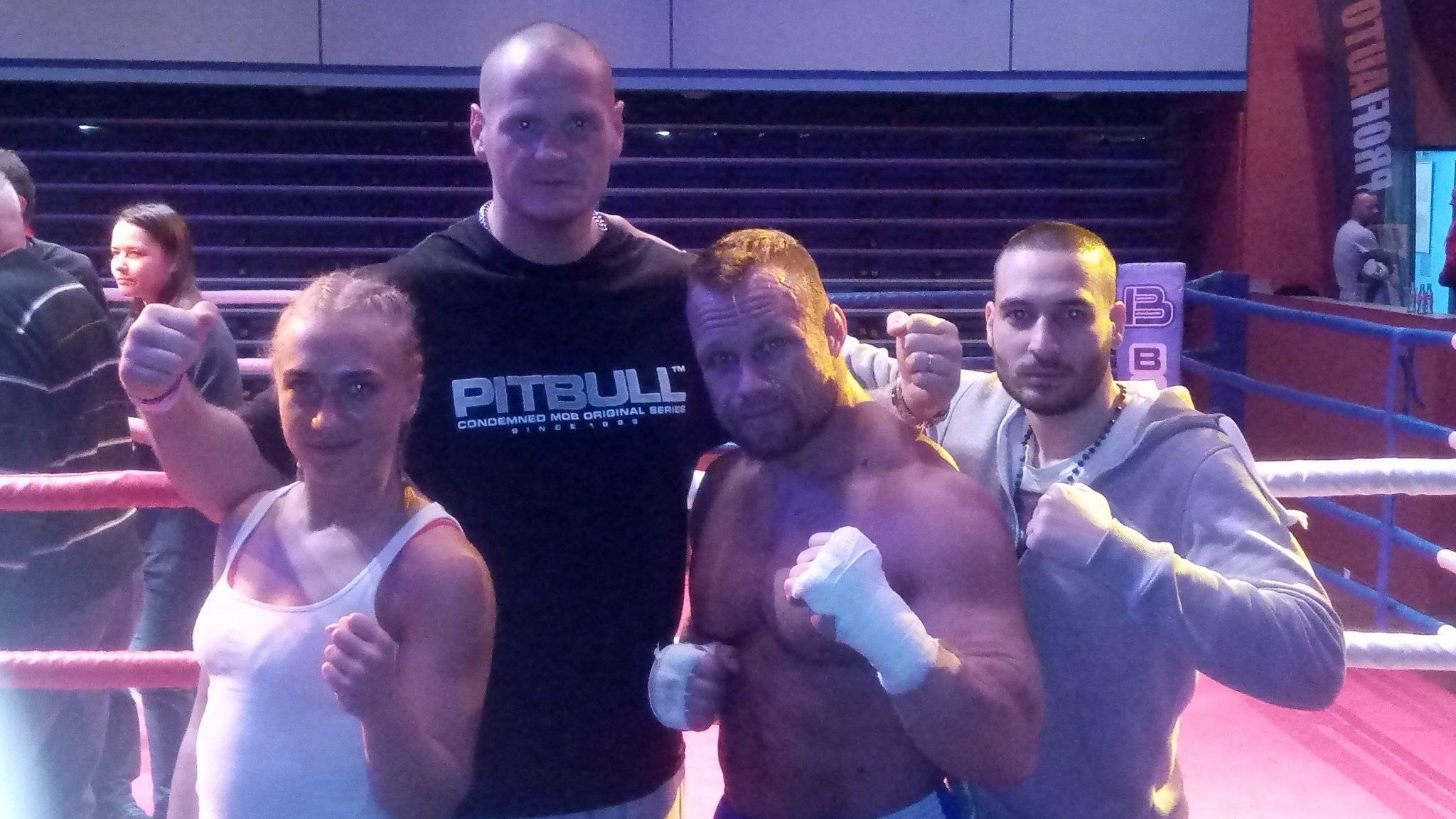 Filip Grznár má za sebou první boxerské klání