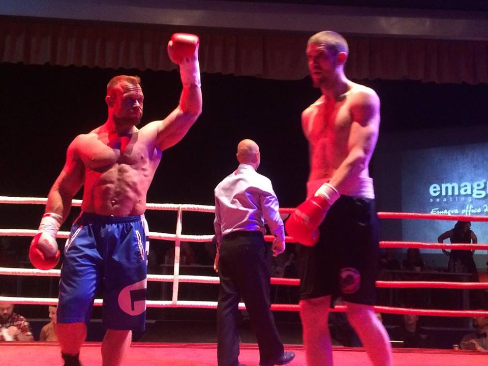 Filip Grznár vyhrál zápas v boxu