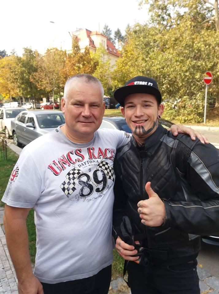 Michal Lebduška a Jiří Kajínek
