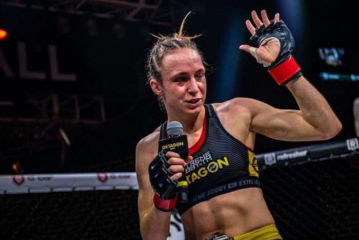 Lucie Pudilová vyhrála na Oktagon 19