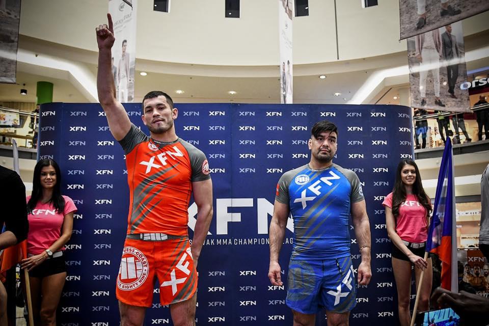 Muradov Makhmud vs. Gonzalez Diego na akci XFN