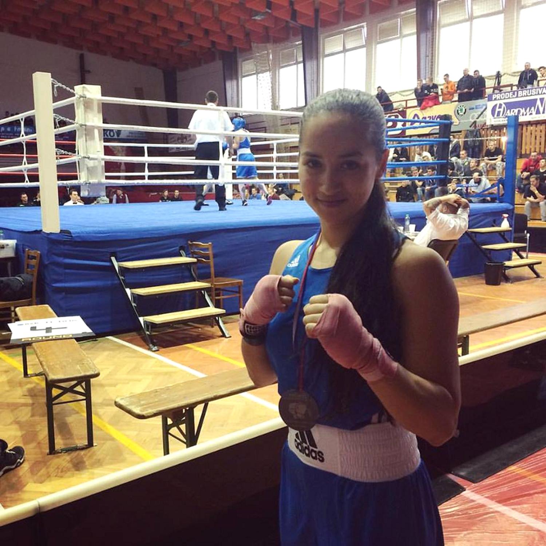 Nela Freiherrová po vítězství
