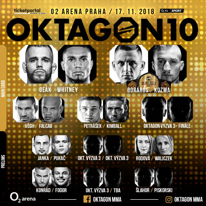 Jubilejní desátý turnaj organizace OKTAGON MMA