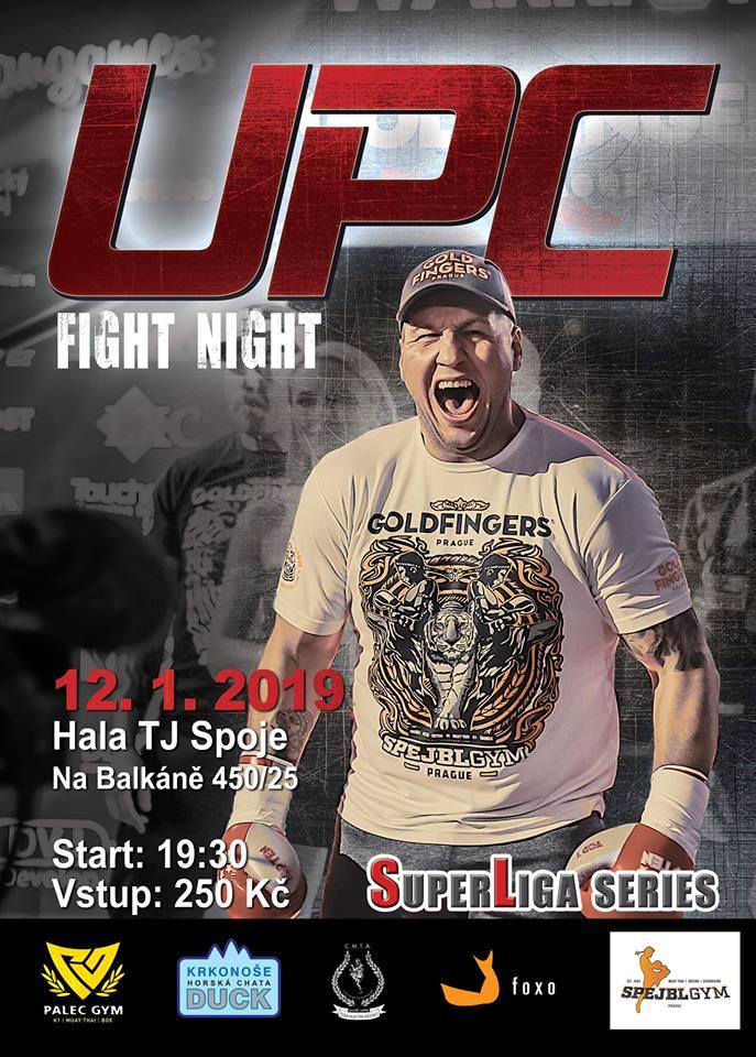 Michal Vančura se představí na dalším ročníku UPC Fight Night