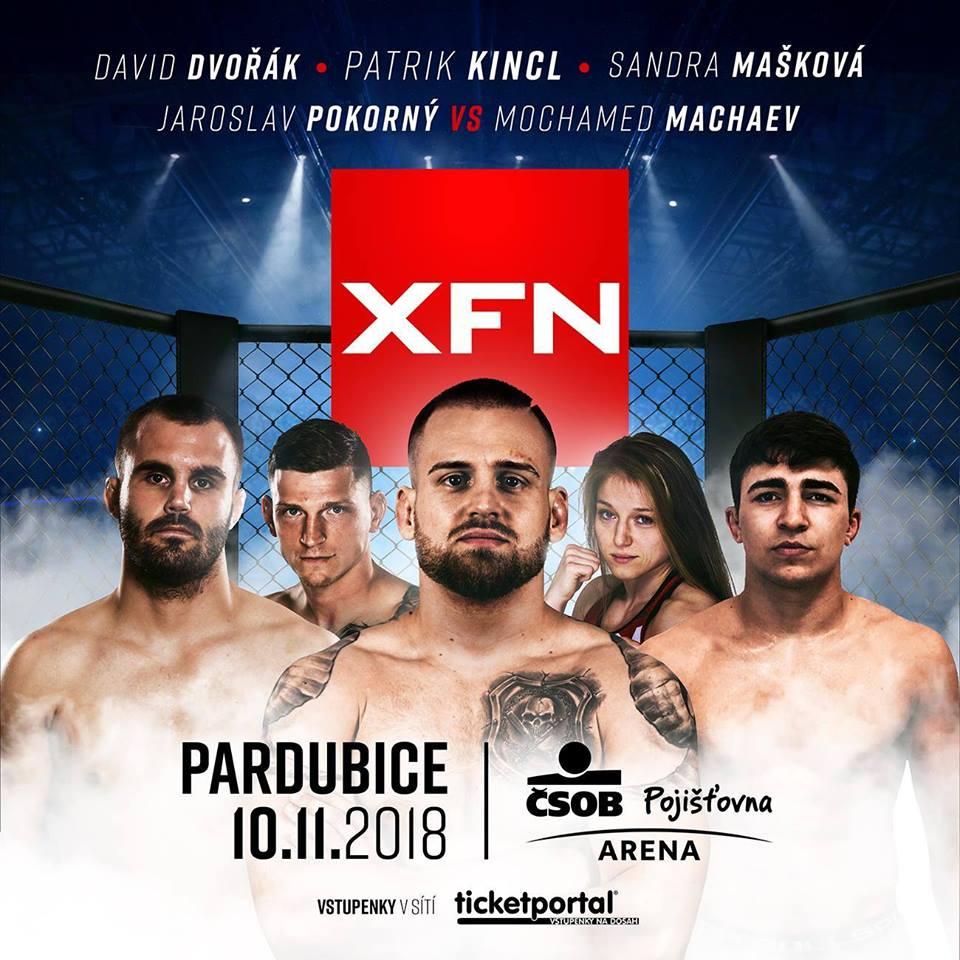 Na XFN 13 se představí česká MMA špička