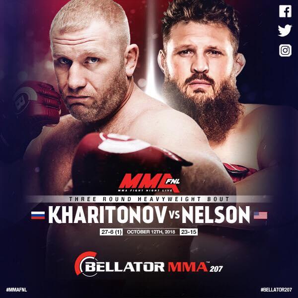 Bitva Sergei Kharitonov vs. Roy Nelson v Bellatoru