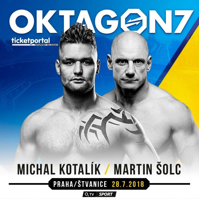 Michal Kotalík vs Martin Šolc na Oktagonu 7