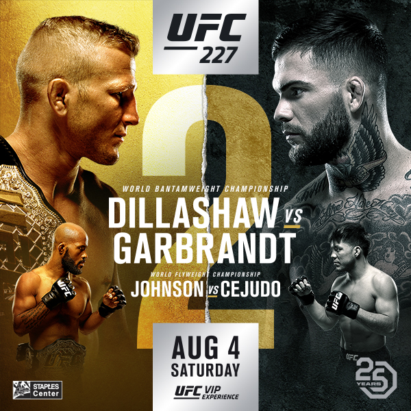 Očekávaný duel Dillashaw vs. Garbrandt