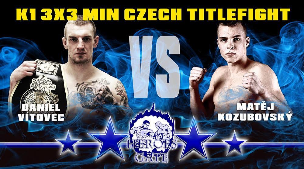 Daniel Vítovec vs. Matěj Kozubovský na Heroes Gate 21