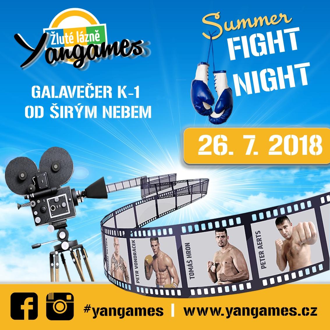 Yangames Fight Night výsledky